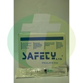 "Disposable syringes,2.5 ml,  Safety,needle 21G x 1 1/2"", CE"