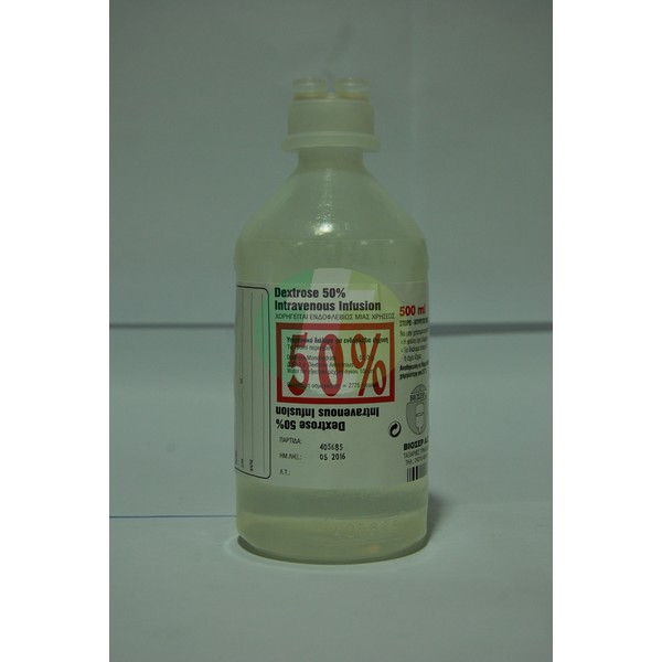 Dextrose Inj. 50%, 500 ml