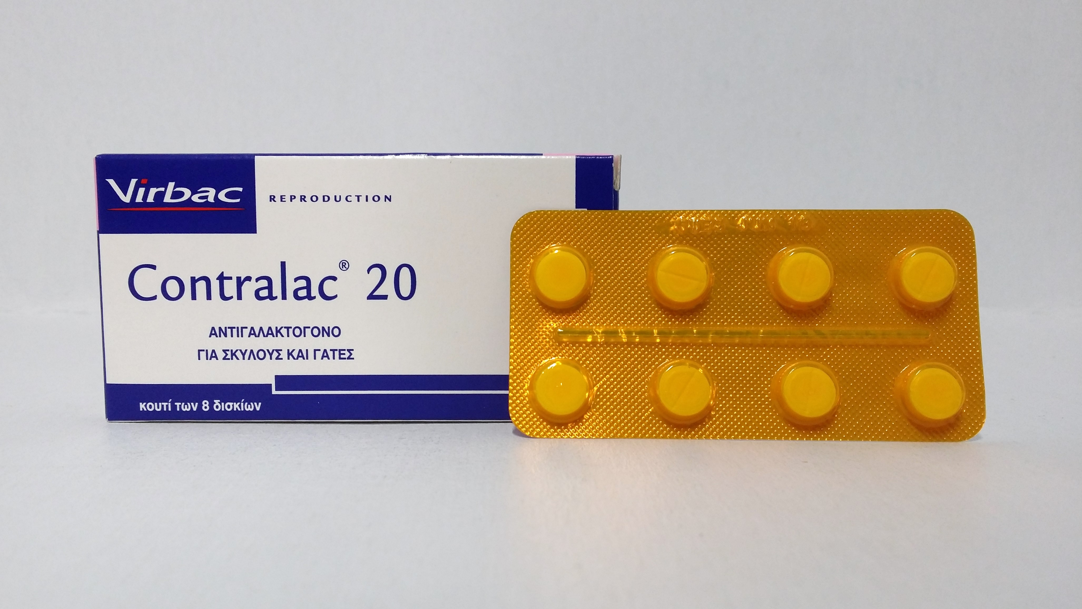 Contralac 20, 8 tabs