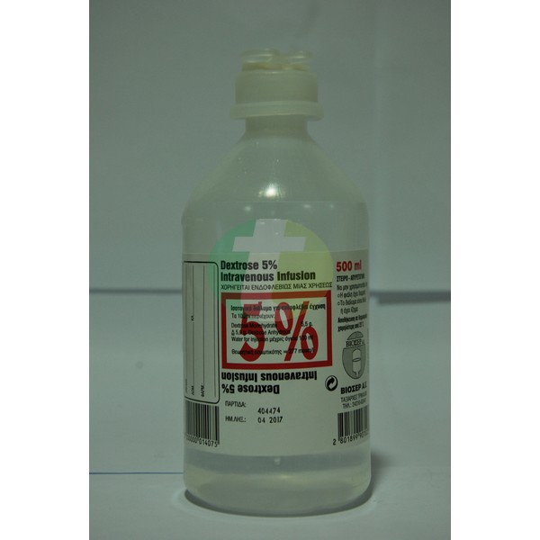 Dextrose Inj. 5%, 500 ml