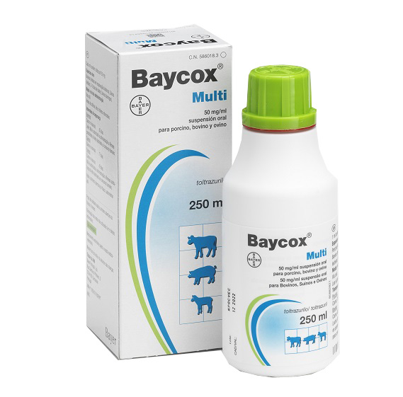 Baycox Multi 50 mg/ml, 250 ml