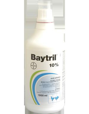Baytril Oral 10%, 1 lt