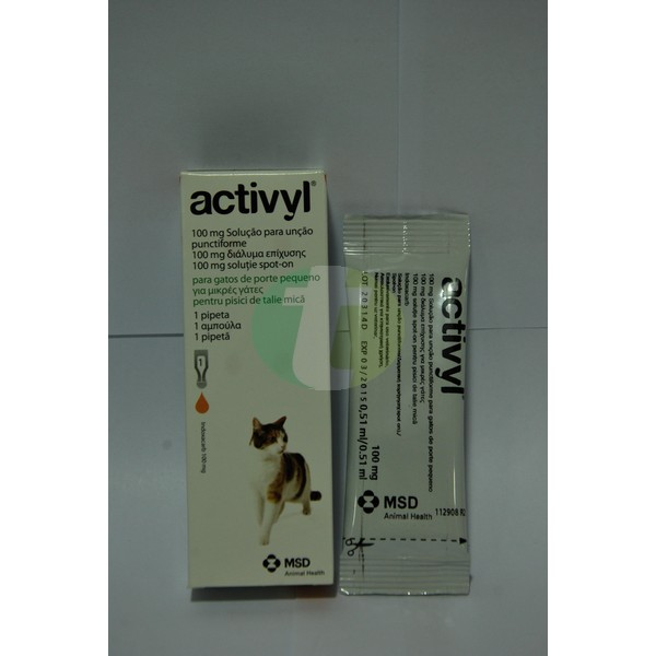 Activyl Small Cats <4 kg, 1 pipette