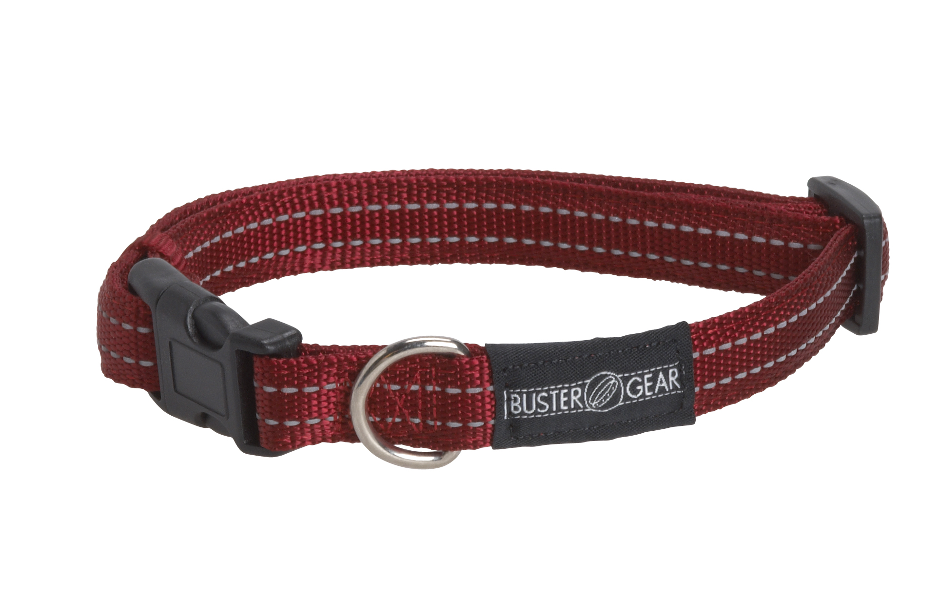 BUSTER reflective collar, adjustable, 25x450-650mm, red