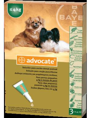 Advocate Spot-on Dog, 1-4 kg