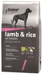 golosi lamb and rice packaging
