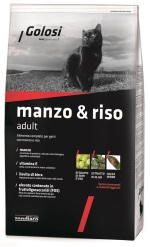 golosi manzo & riso packaging